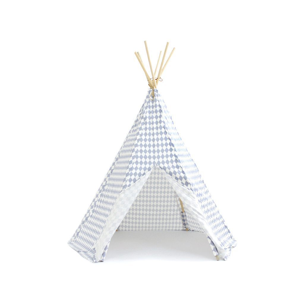 Nobodinoz Kinder tipi Diamonds in blue