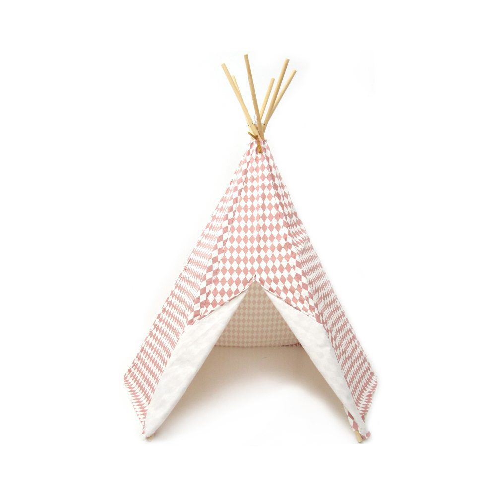 Nobodinoz Kinder tipi Diamonds in pink