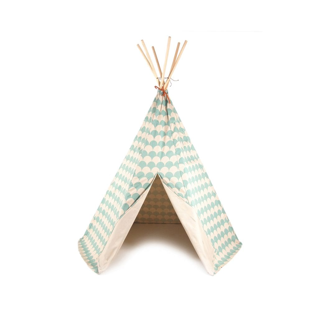 Nobodinoz Kinder tipi Scales in green