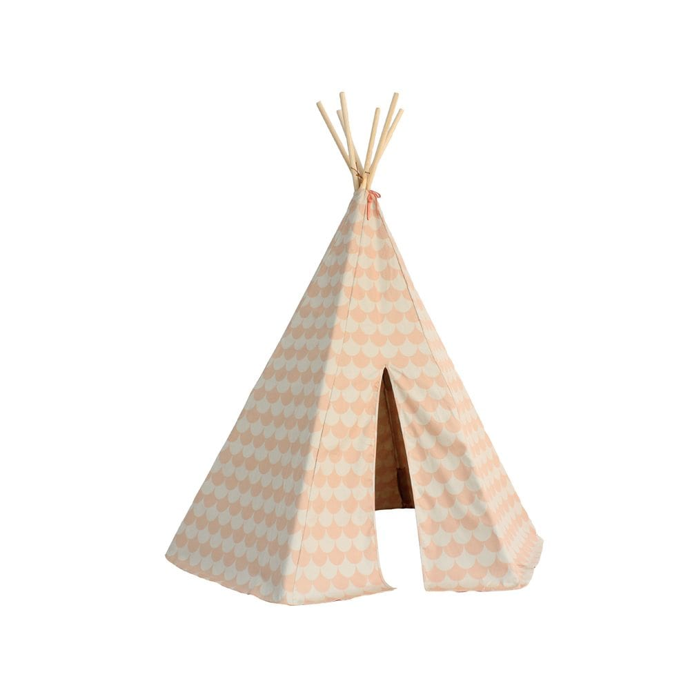 Nobodinoz Kinder tipi Scales in pink
