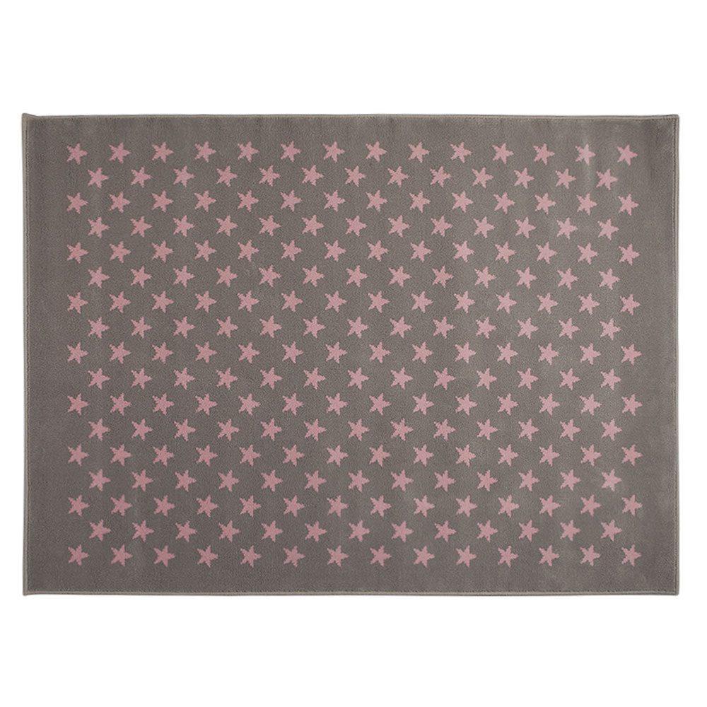 Estrellitas grey pink
