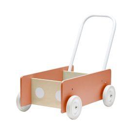 Kids Concept – Baby Loopwagen – Dark Apricot