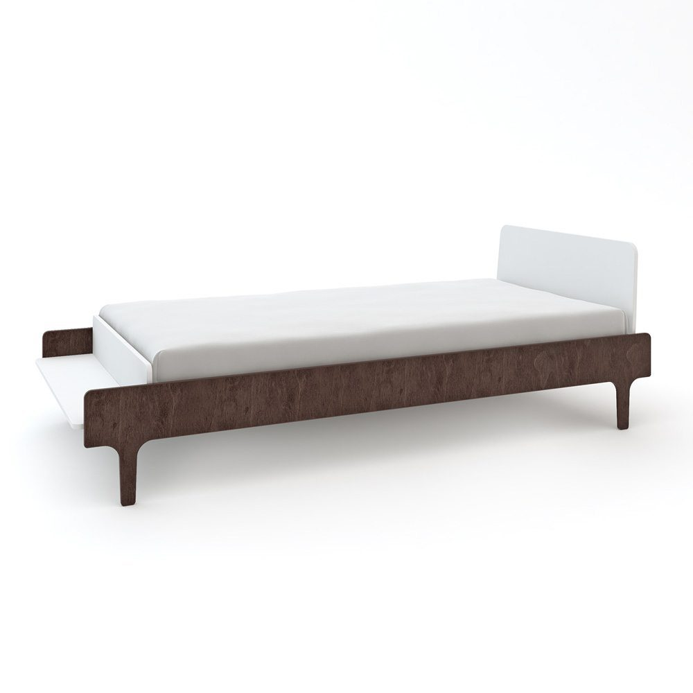 Oeuf NY Twin bed River in walnut