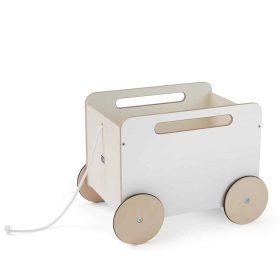 Ooh Noo – Toy Chest on Wheels – White