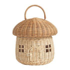 Olli Ella – Rattan Mushroom Basket