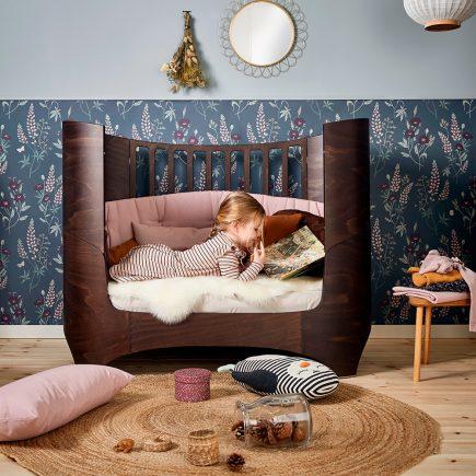 Leander Classic Babycot Walnut