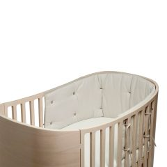 Bumper for Classic baby cot Organic cappuccino