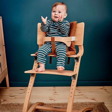 Cushion for Classic high chair Organic ginger