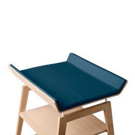 Leander – Cover voor aankleedkussen Linea changing table – dark blue