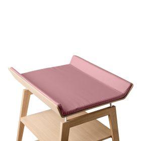Leander – Cover voor aankleedkussen Linea changing table – dusty rose