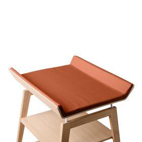 Leander – Cover voor aankleedkussen Linea changing table – ginger