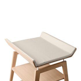 Leander – Cover voor aankleedkussen Linea changing table – cappuccino