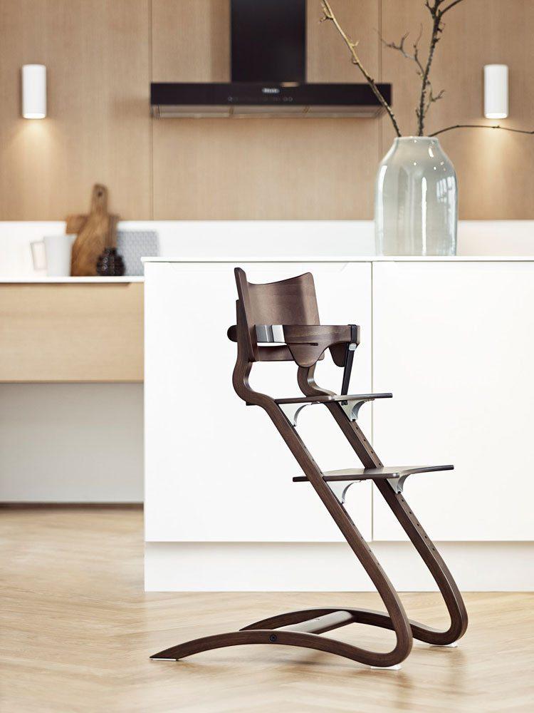 Leander Kinderstoel walnut