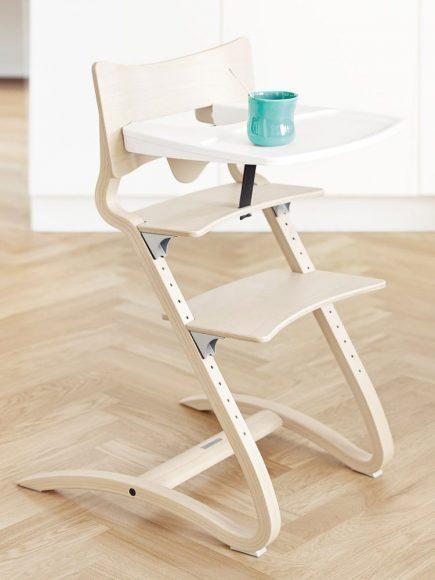 Leander Kinderstoel whitewash