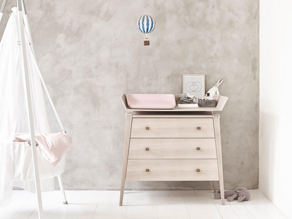 Leander Linea + Matty aankleedkussen soft pink