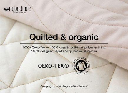 Nobodinoz Speelkleed Kiowa quilted and organic