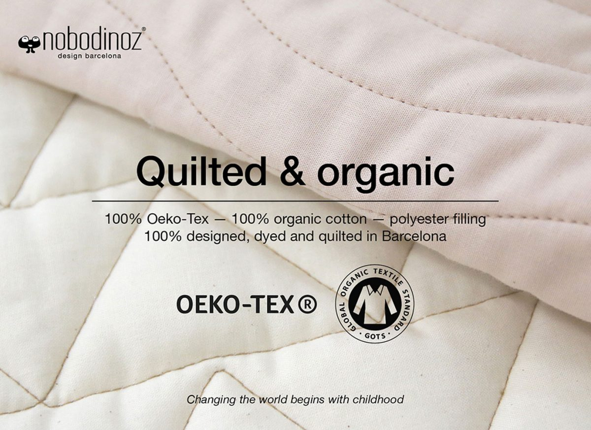 Nobodinoz Speelkleed Kiowa quilted and organic