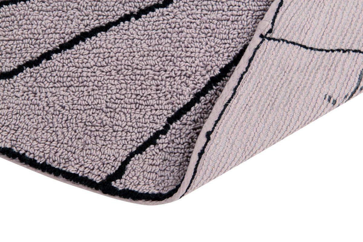 Comfortabel Vloerkleed Babykamer : Lorena canals rond vloerkleed trace wood rose gratis verzending