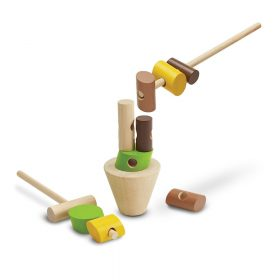 Plan Toys – Boomstammen Spel Hout