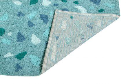 Vloerkleed Terrazzo 140 x 200 cm green