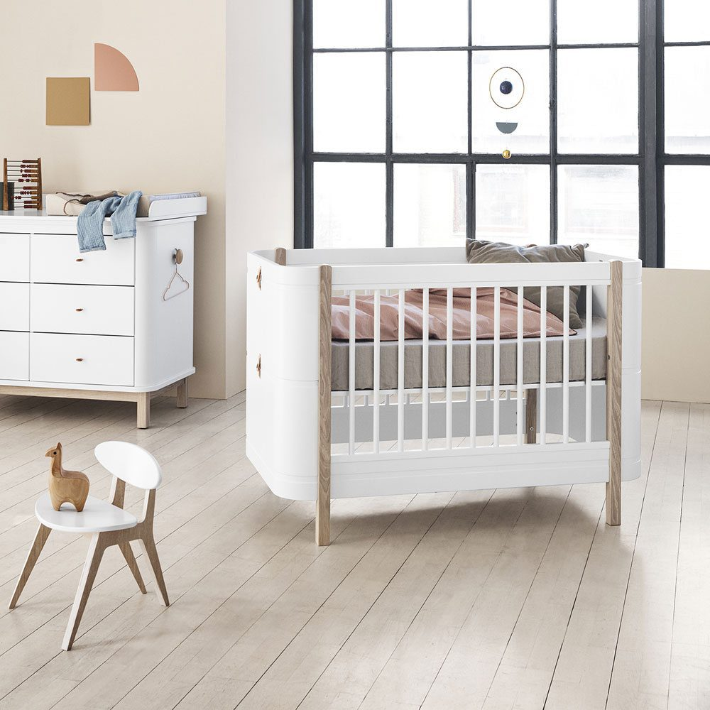 Oliver Furniture Ledikant Wood Mini+ white oak