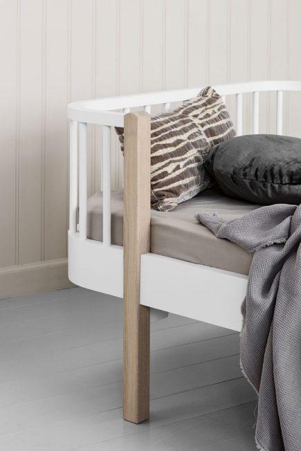 Oliver Furniture juniorbed Wood white oak