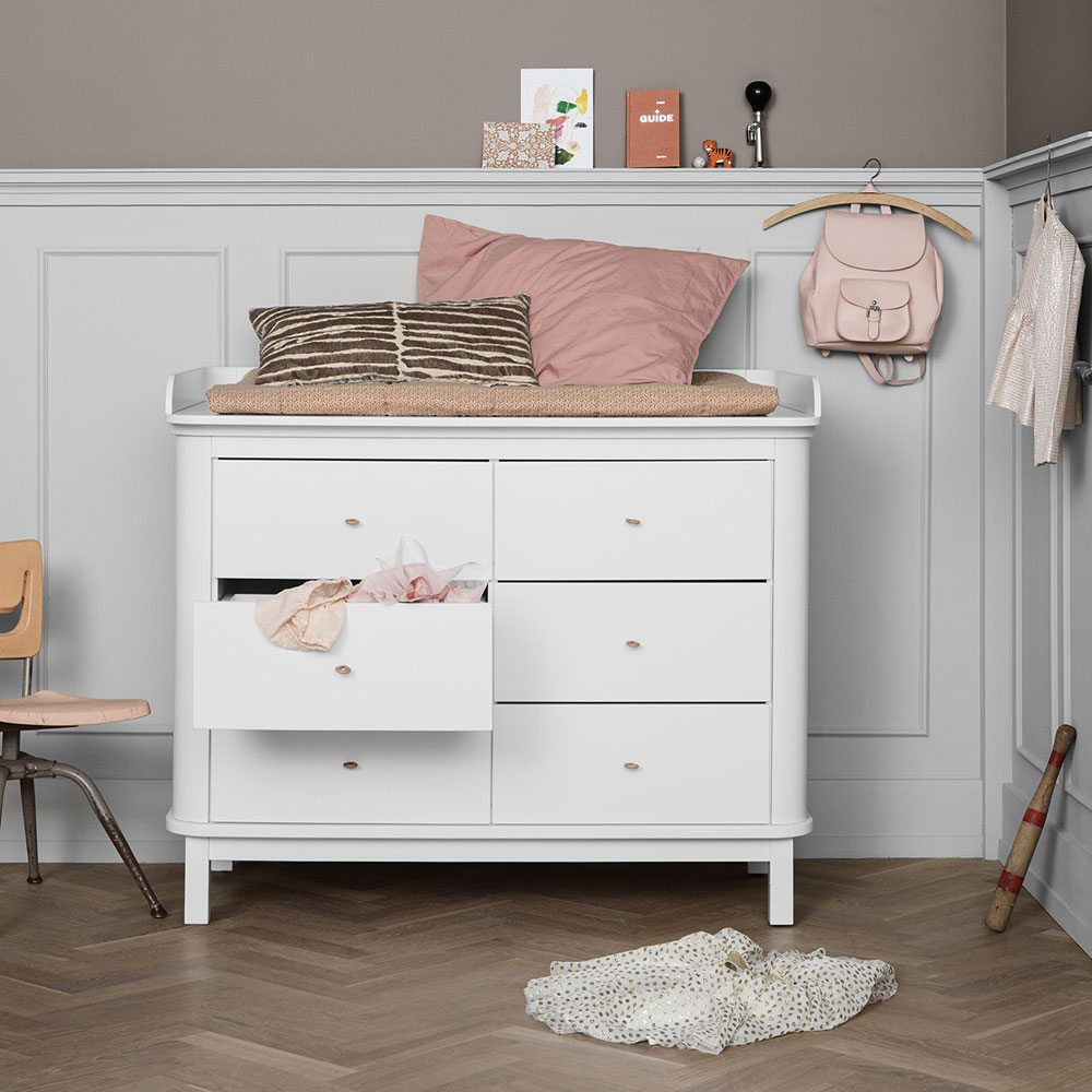 Oliver Furniture Commode Wood white oak