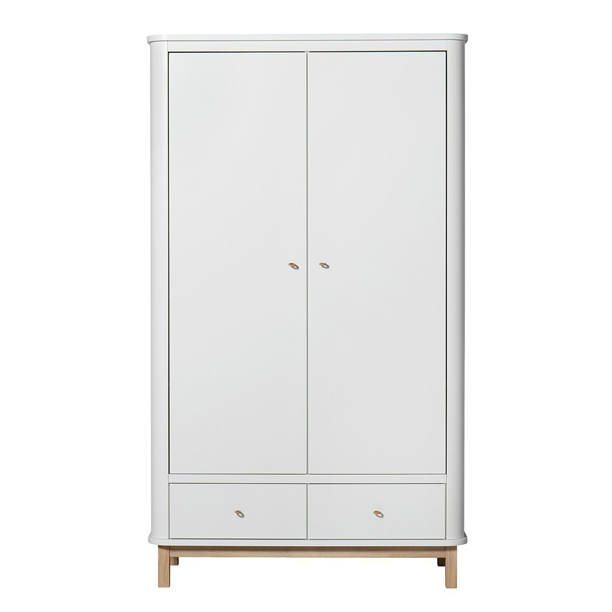 Oliver Furniture Kinderkledingkasten Wood white oak 2 deuren