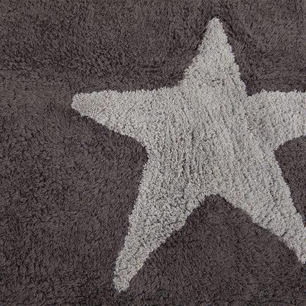 Lorena Canals Vloerkleden babykamer 3 Stars cotton grey