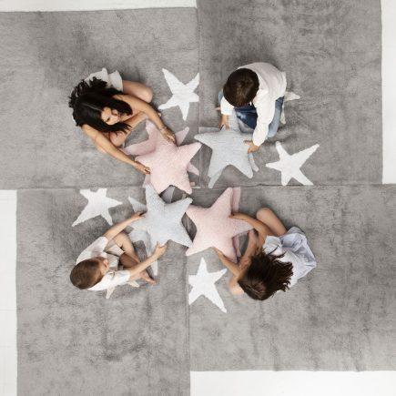 Lorena Canals Vloerkleden babykamer 3 Stars cotton2