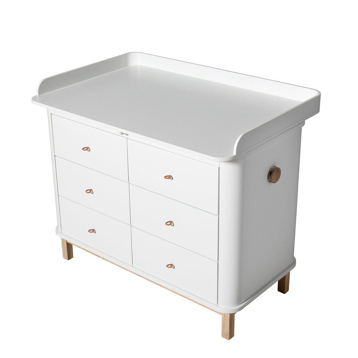 Oliver Furniture Aankleedplank voor commode Wood large