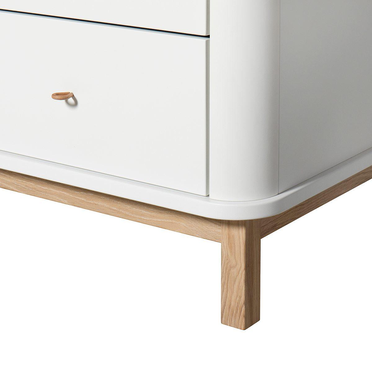 Oliver Furniture Commode Wood white oak detail