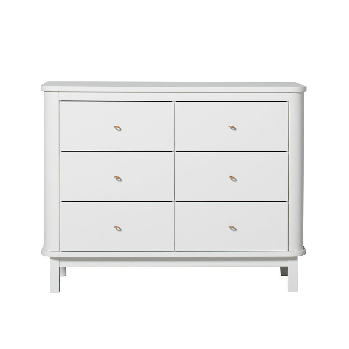 Oliver Furniture Commode Wood white