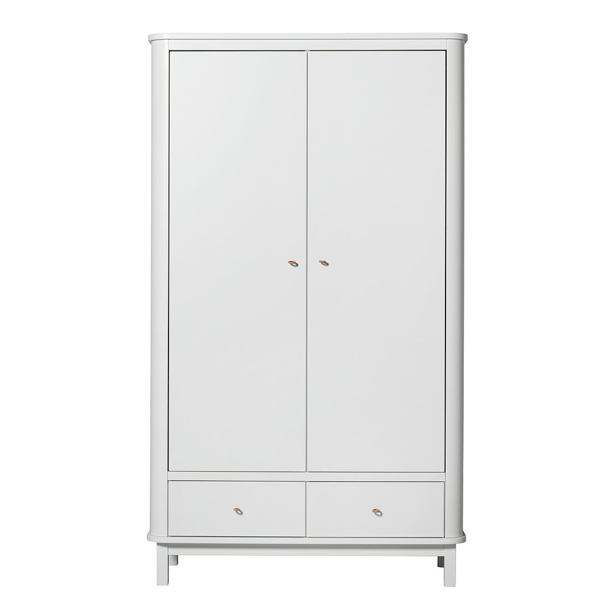 Oliver Furniture Kinderkledingkasten Wood white 2 deuren