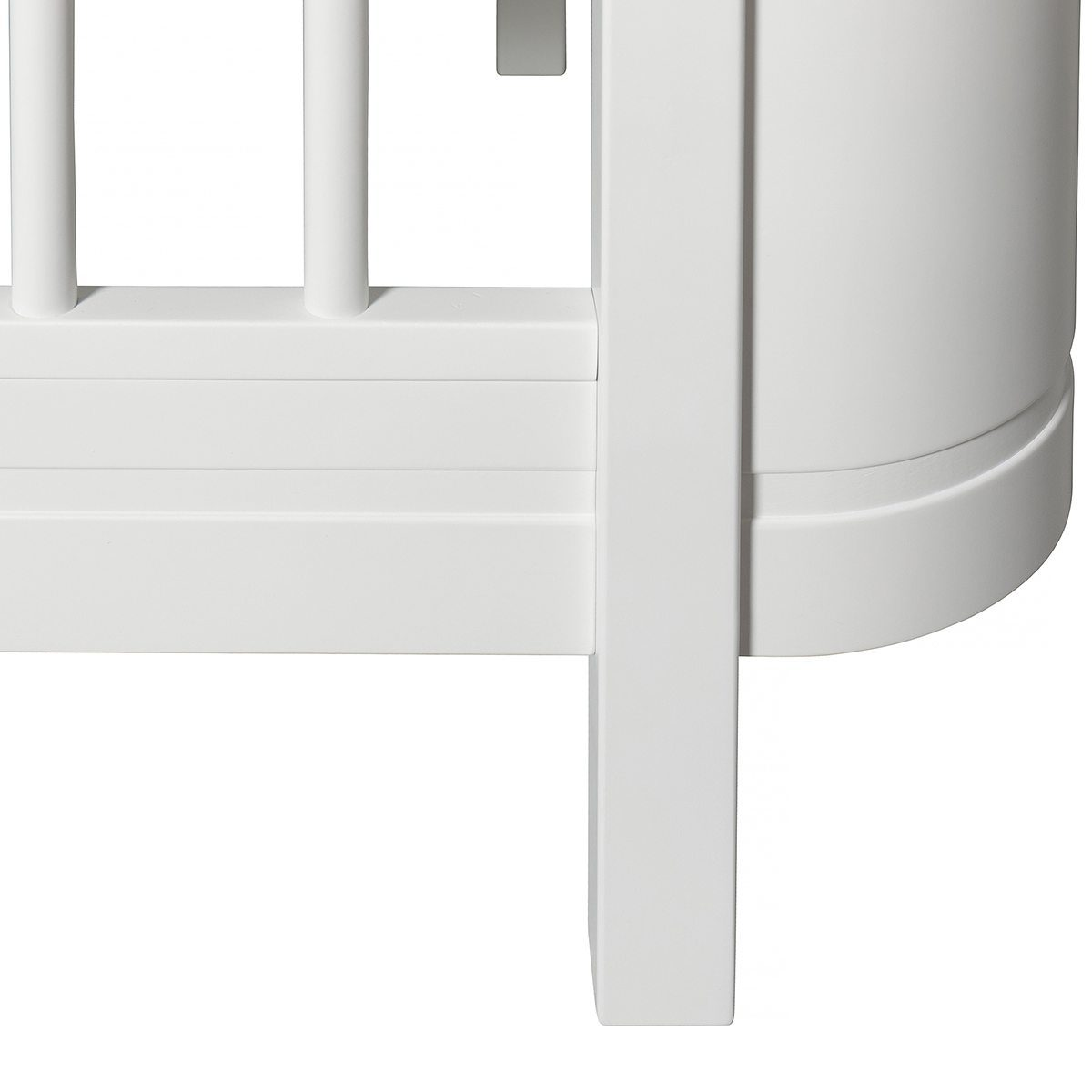 Oliver Furniture Ledikant Wood Mini+ white detail