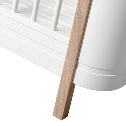 Oliver Furniture Ledikant Wood Mini+ white oak detail