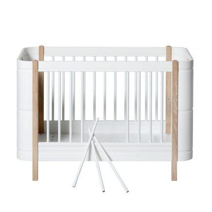 Oliver Furniture Ledikant Wood Mini+ white oak