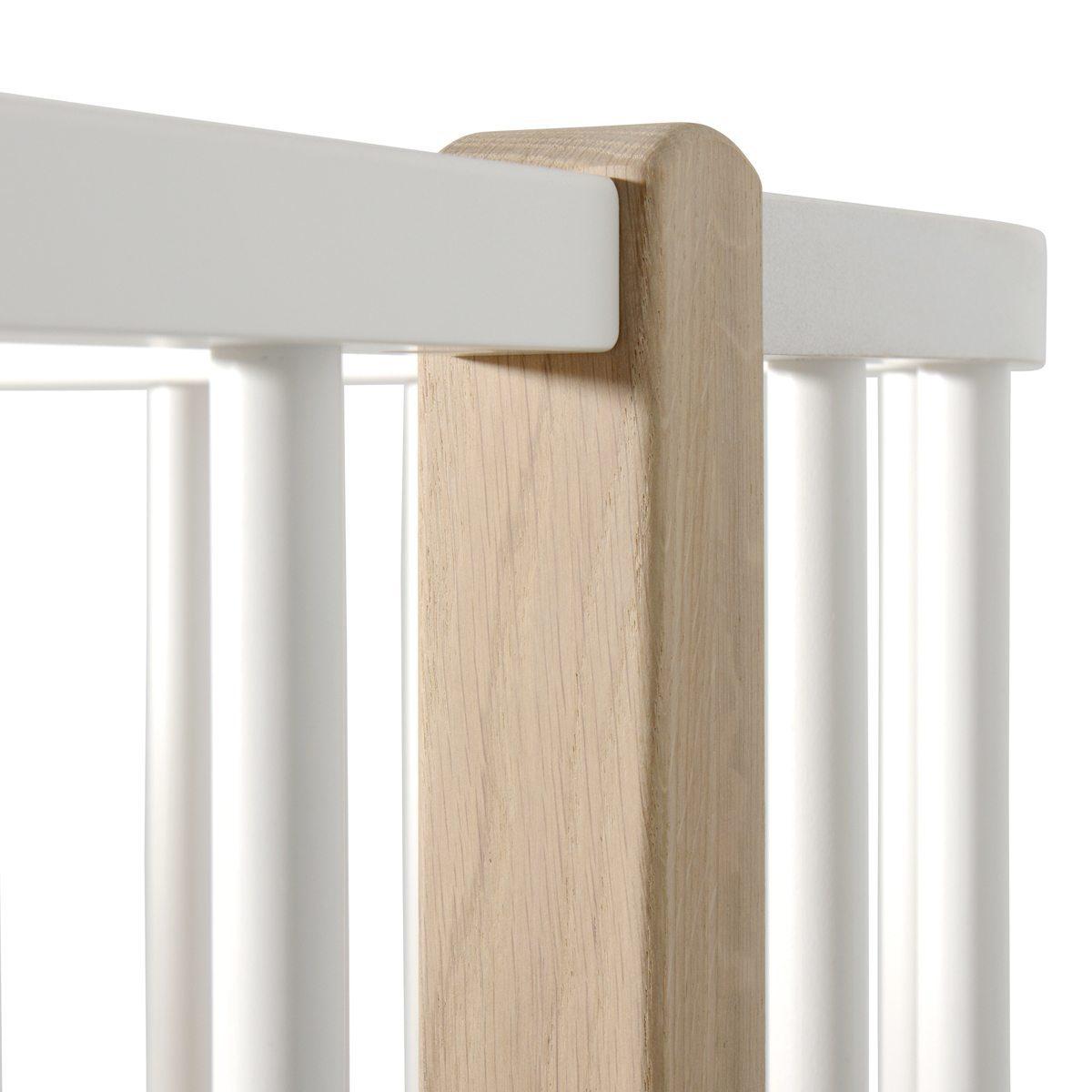 Oliver Furniture Loft bed Wood white oak detail