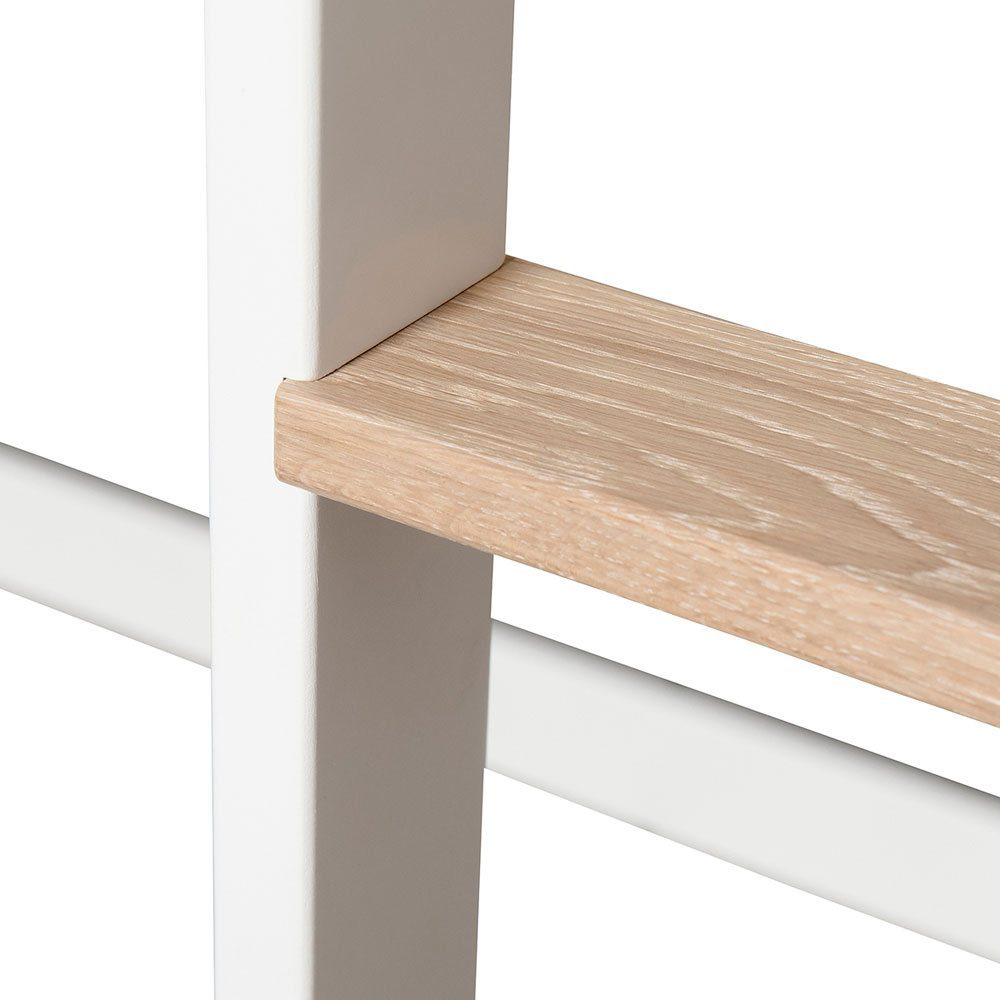 Oliver Furniture Mini+ conversie naar Loft bed white oak detail