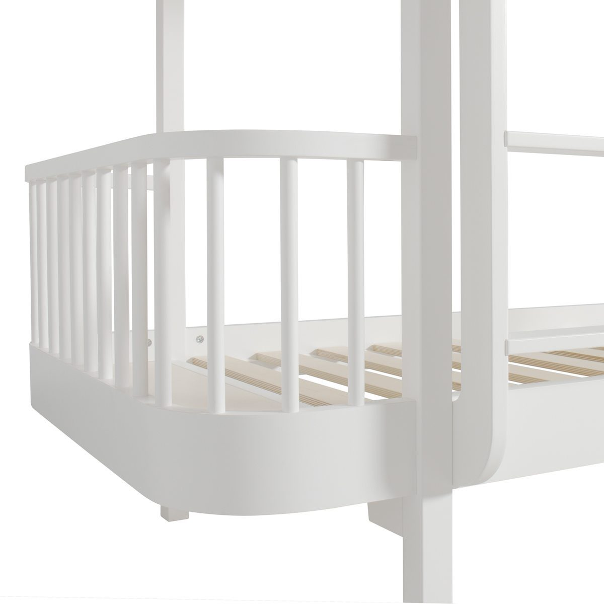 Oliver Furniture Stapelbed white Wood detail