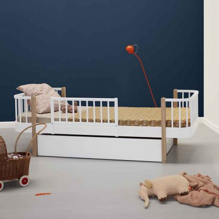Oliver Furniture Wood Junior bed 90 x 200 cm met anti uitval beveiliging