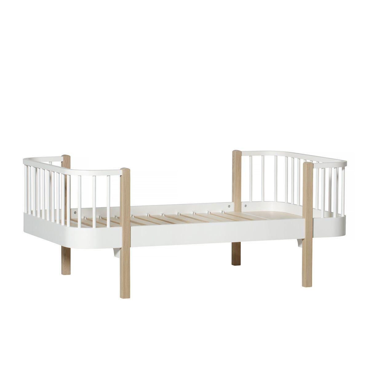 Oliver Furniture juniorbed Wood 160 cm white oak