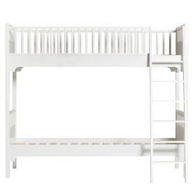 Oliver Furniture – Seaside Classic Bunk Bed met schuine ladder – Wit, 90 x 200 cm