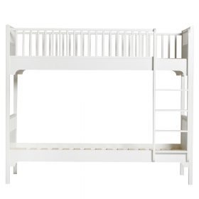 Oliver Furniture – Seaside Classic Bunk Bed met verticale ladder – Wit, 90 x 200 cm