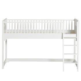 Oliver Furniture – Seaside Classic Low Loft Bed – Wit, 90 x 200 cm