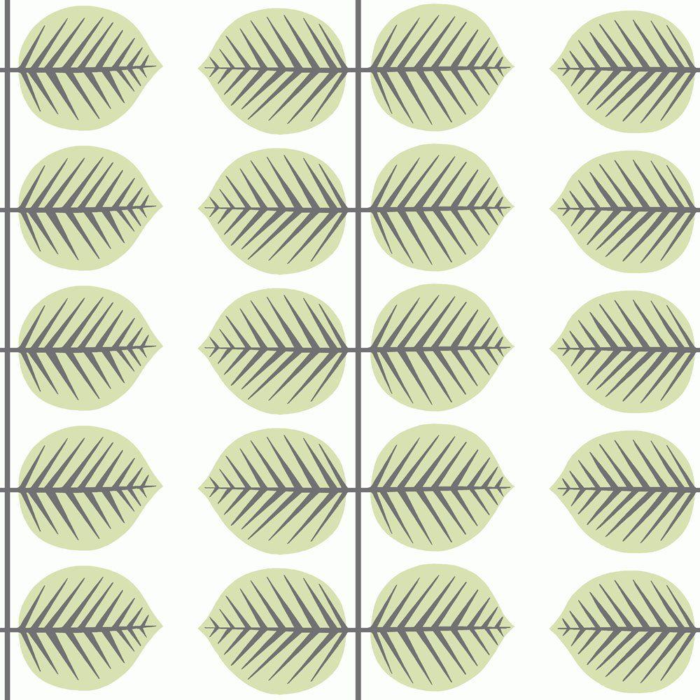 6245 BoråsTapeter Behang kinderkamer Berså II green