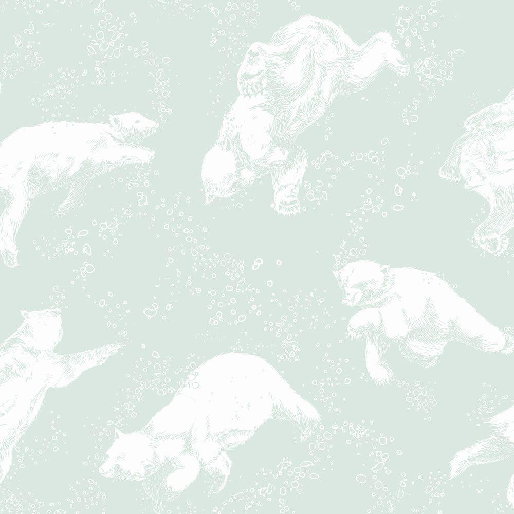 6258  BoråsTapeter Behang kinderkamer Polarn