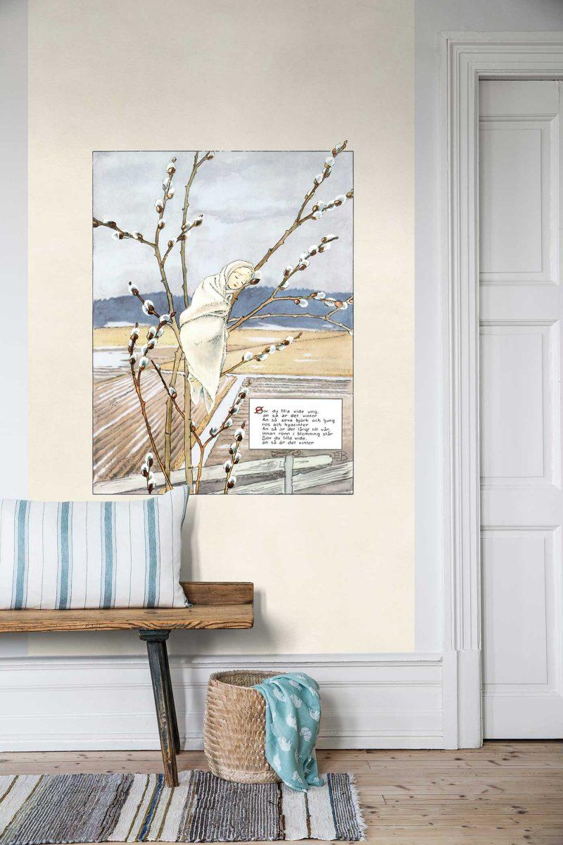 6268 BoråsTapeter Mural kinderkamer Videvisan 135x265cm