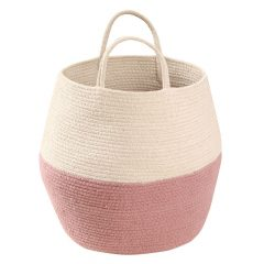 Lorena Canals - basket Zoco - ash rose-natural