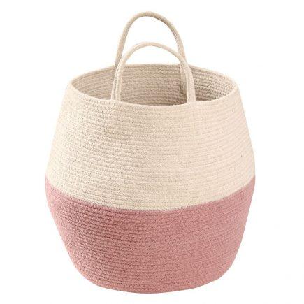 Lorena Canals - basket Zoco - ash rose-natural